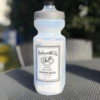 KAMIHAGI CYCLE オリジナルWATER BOTTLE クリア 22oz