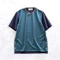 DISCOVERED WESTERN PULLOVER(GREEN×NAVY)