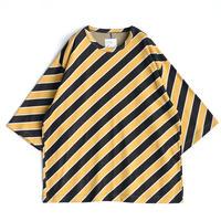 SHAREEF BIAS STRIPE BIG-T(Yellow)