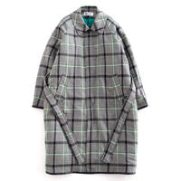 DISCOVERED CHECK COAT(GREEN CHECK)