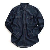 LTB WILSTAN RINSED WASH DENIM SHIRT(INDIGO)