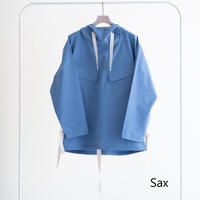 UNITUS Hooded Shirt Parka(Sax)