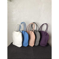 【WOMEN'S】THE FACTORY シルババッグ オーバルミニ(O.White/Marine Blue/Purple/Gray/Antique Rose)