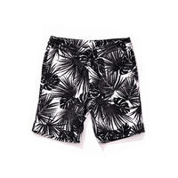 HYDROGEN PALMS SHORTS(BLACK)