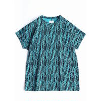 SHAREEF DRAWING PT CREW-NECK BIG-T(Turquoise)