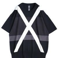SHAREEF CROSS JQ S/S PULL-OVER(White)