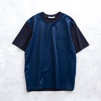 DISCOVERED FRONT CLOTH CUTSEW(NAVY)