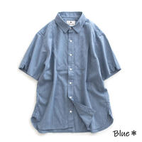 Snow Peak SHIJIRA Shirt(Blue)