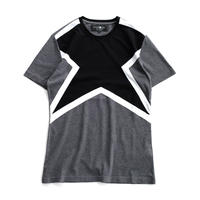 HYDROGEN SUPER STAR TEE(BLACK×CHARCOAL)