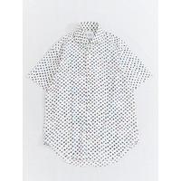 FEEL EASY ORIGINAL DOT S/S SHIRT(White)