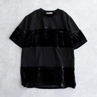 DISCOVERED SLICE CUTSEW(BLACK×BLACK)