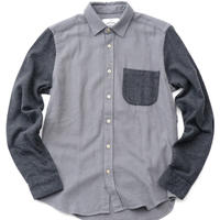 PORTUGUESE Flannel Flannel Shirt(GRAY×CHARCOAL)