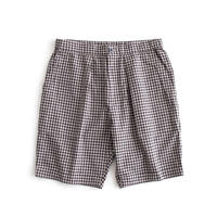 Snow Peak C/L Panama Easy Shorts(Black Check)