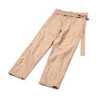 RICEMAN Belted Lounge Pants(BROWN)