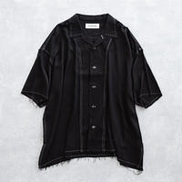 DISCOVERED CUT OFF SHIRT(BLACK)