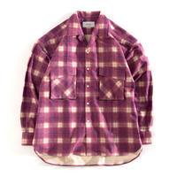 UNITUS Patch&Flap Shirt(Purple)