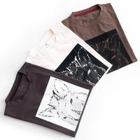 Snow Peak×TONEDTROUT Graphic Tshirt Japanese Serow(Charcoal/Ivory/Pro.)
