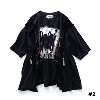 """DISCOVERED """"NEWSED"""" WIDE T-SHIRT(#2)"""