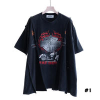 "DISCOVERED ""NEWSED"" HARLEY WIDE T-SHIRT(#1)"