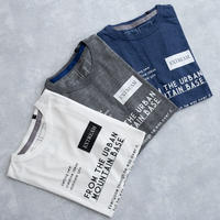 MofM(man of moods) オリジナルTシャツ FROM THE URBAN MOUNTAIN BASE(WHITE/GRAY/NAVY)