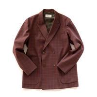 UNITUS Double Brested Jacket Plaid Check(Plaid Check)