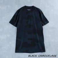 HYDROGEN CAMO SKULL T-SHIRT(BLACK CAMOUFLAGE)
