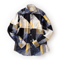 FEEL EASY ORIGINAL GEOMETRIC LAWN SHIRT(Multi)