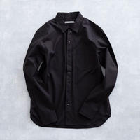 DISCOVERED FRONT STUD'S SHIRT(BLACK)