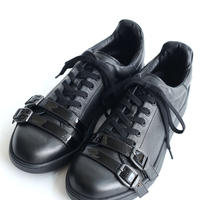SHAREEF LEATHER SNEAKER(Black)