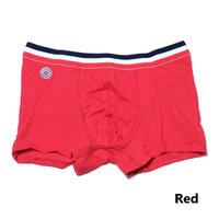 Le Slip Francais Permanent Lycra Boxer Briefs(Red)