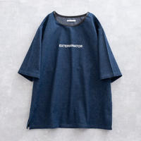 DISCOVERED DENIM PULLOVER(INDIGO)