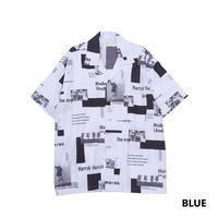 Iroquois E.C.WブロードS/Sシャツ(BLUE)