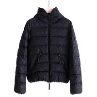 HYDROGEN ALLOVER DOWN JACKET HYDROGEN BY DUVETICA(BLACK)