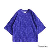 SHAREEF VELOUR LOGO JQ S/S BIG-T(Lavender)