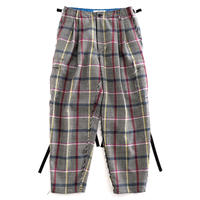 DISCOVERED CHECK PANTS(RED CHECK)