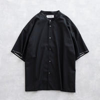 DISCOVERED STRIPE SHIRT(BLACK)