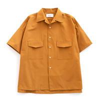 UNITUS Open Collar Big Shirt(Yellow)