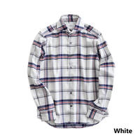 FEEL EASY ORIGINAL MADRAS CHECK FLANNEL SHIRT(White)