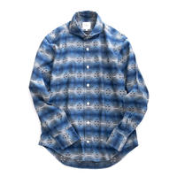 FEEL EASY ORIGINAL TRIVAL JACQUARD SHIRT(Blue)