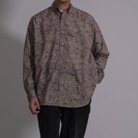 UNITUS Neo Super Large Shirt Rust Pattern(Beige)