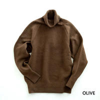 RICEMAN High Neck Knit(OLIVE)