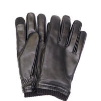 HONNS OLIVER LEATHER(BLACK)