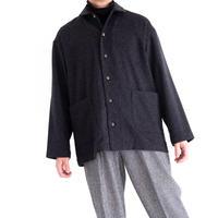 THE INOUE BROTHERS×Snow Peak Royal Alpaca Pyjamas Shirt(Dark Gray)