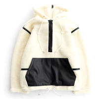 DISCOVERED BOA PULL PARKA(WHITE)