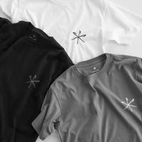 Snow Peak Printed Tshirt Peg & Hammer(White/Black/Gray Khaki)