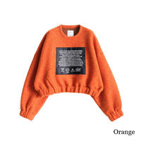 SHAREEF SHETLAND WOOL JERSEY SHORT PO(Orange)