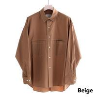 UNITUS Stitched Work Shirt(Beige)