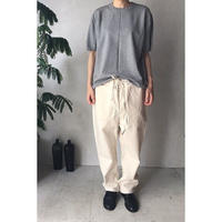 【WOMEN'S】THE FACTORY シルバパンツ(O.White)