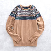 DISCOVERED NORDIC SWEATER(L.BEIGE)