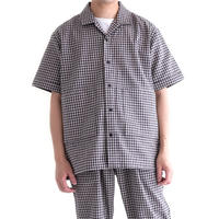 Snow Peak C/L Panama Shirt(Black Check)